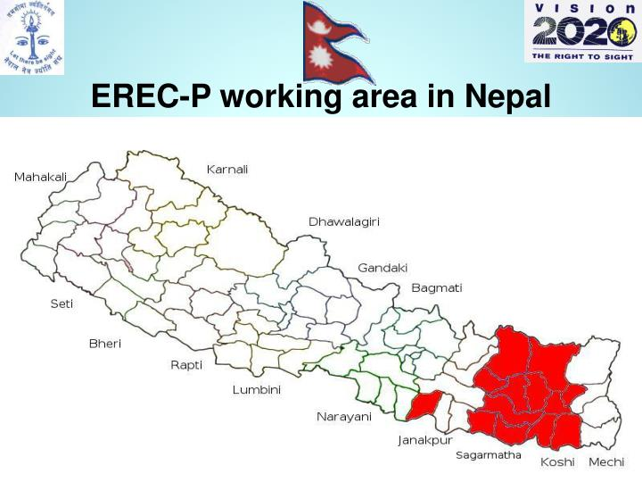 EREC-P working area in Nepal