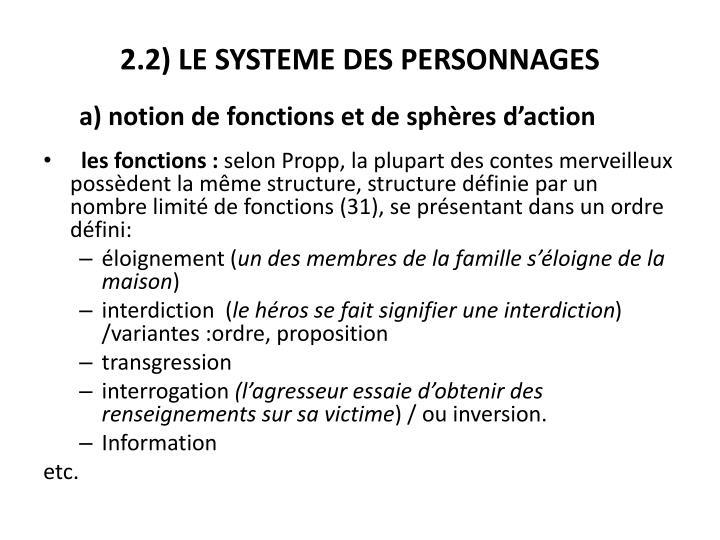 2.2) LE