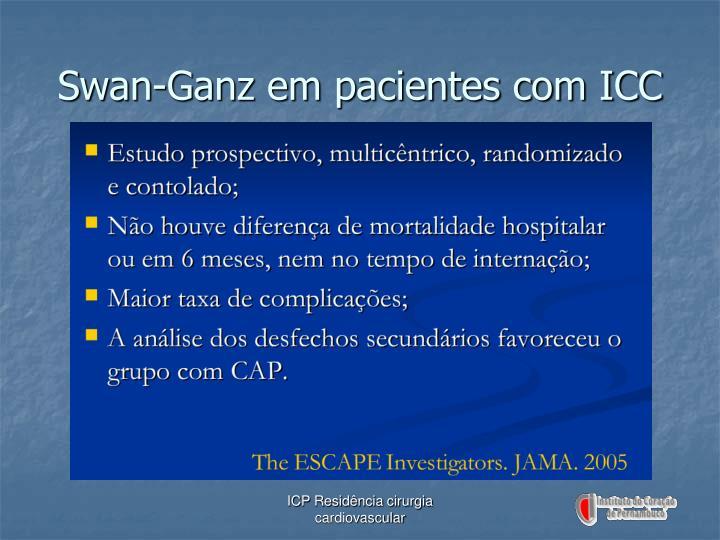 Swan-Ganz em pacientes com ICC