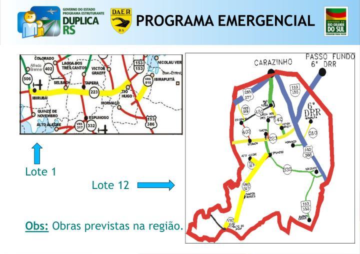 PROGRAMA EMERGENCIAL