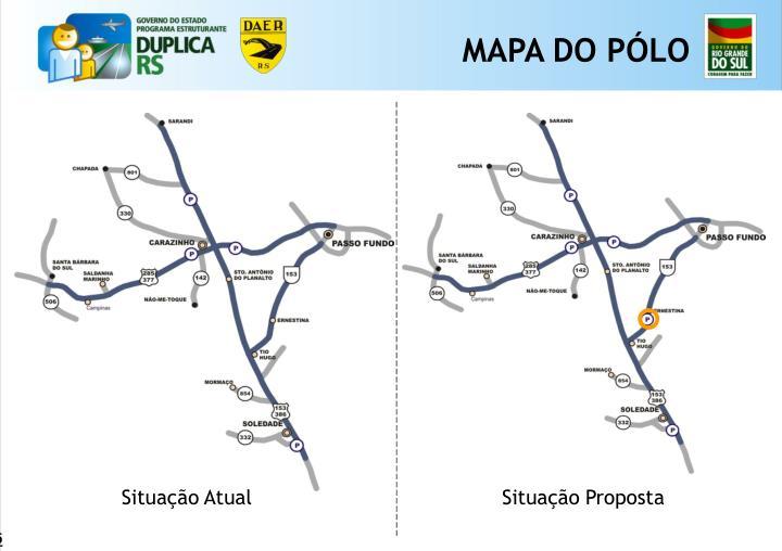 MAPA DO PÓLO