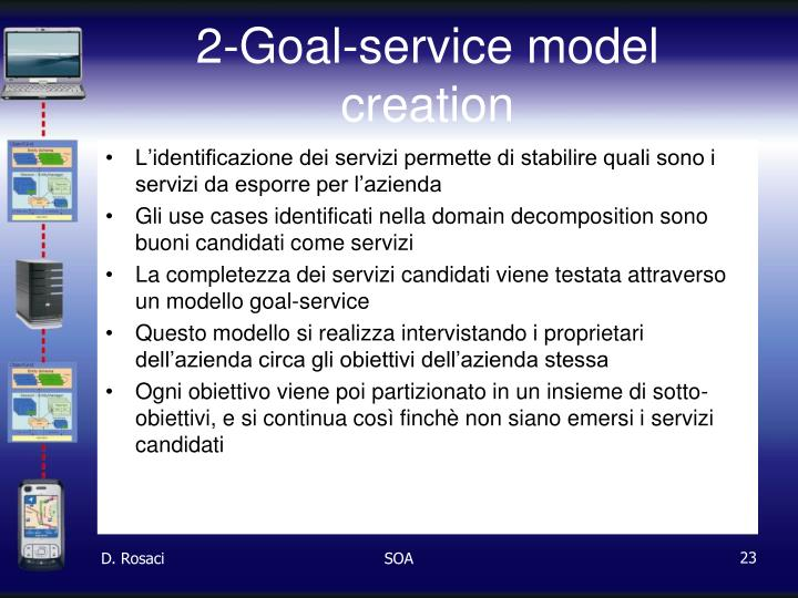 2-Goal-service model creation