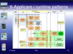 6 applicare i runtime patterns
