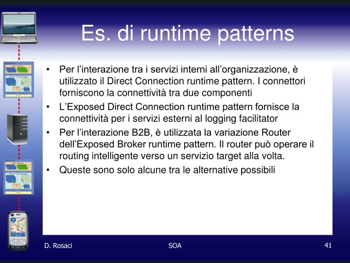 Es. di runtime patterns