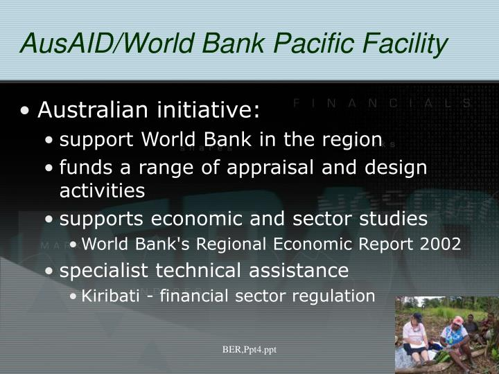 AusAID/World Bank Pacific Facility