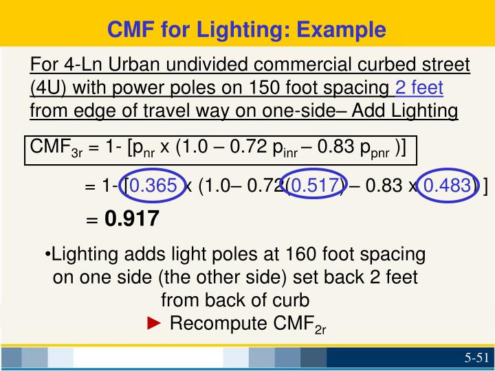CMF for Lighting: Example