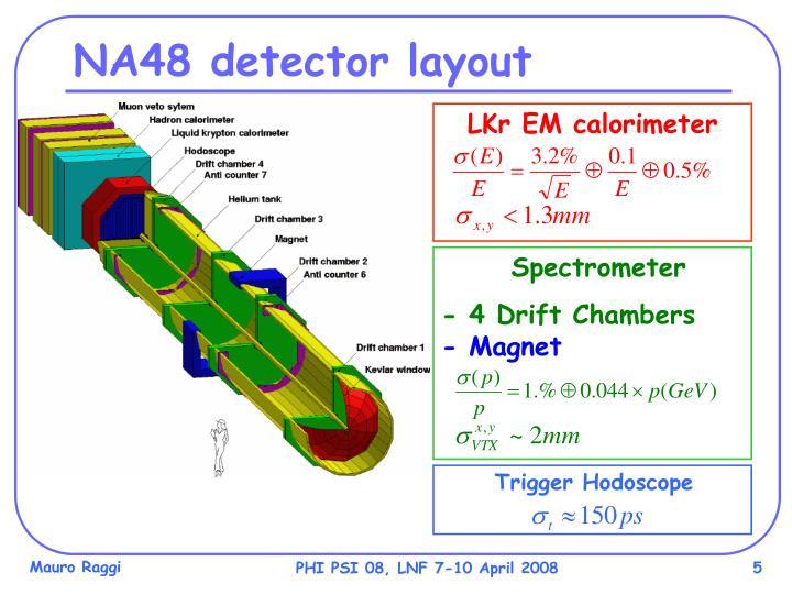 LKr EM calorimeter