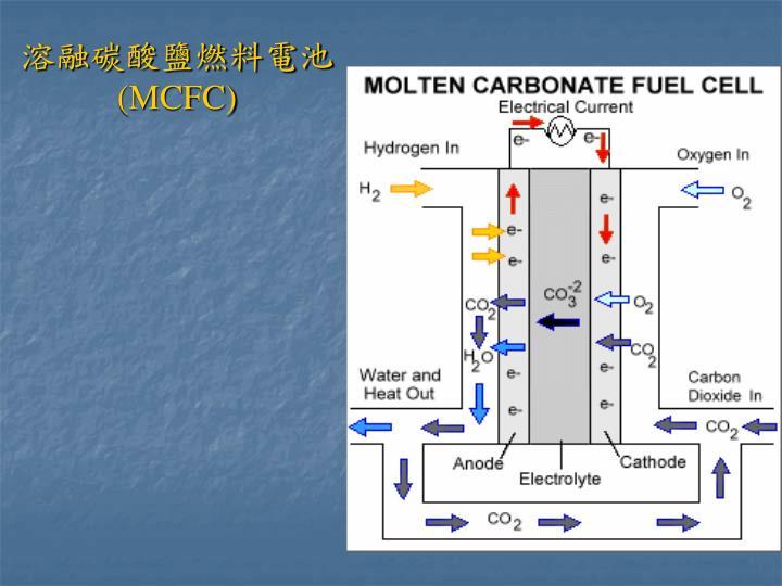 溶融碳酸鹽燃料電池