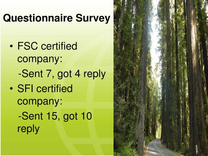 Questionnaire Survey