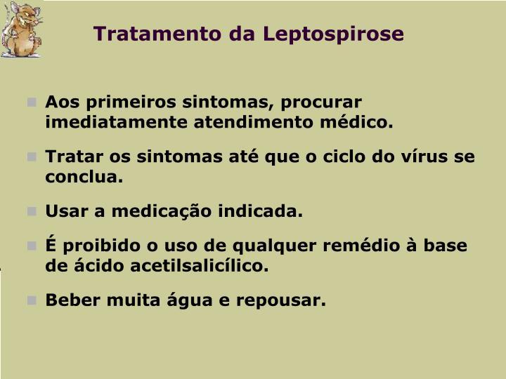 Tratamento da Leptospirose
