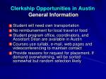 clerkship opportunities in austin general information2