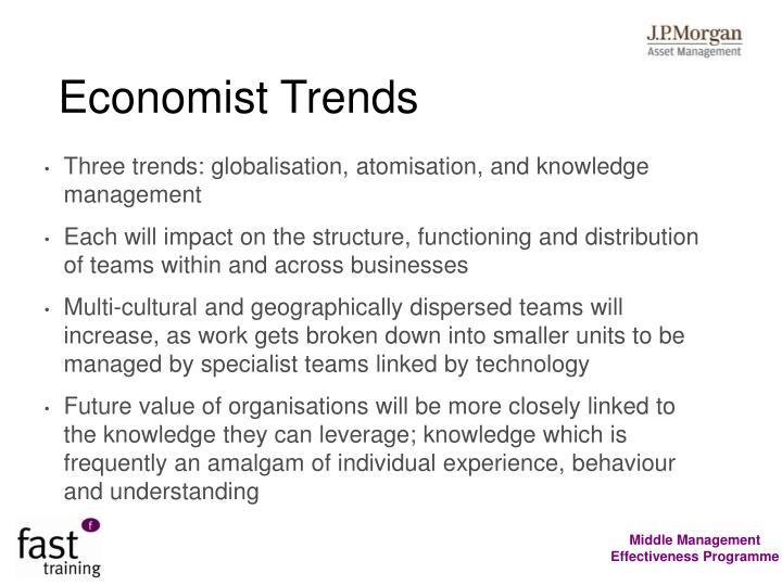 Economist Trends