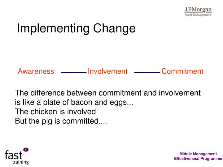Implementing Change