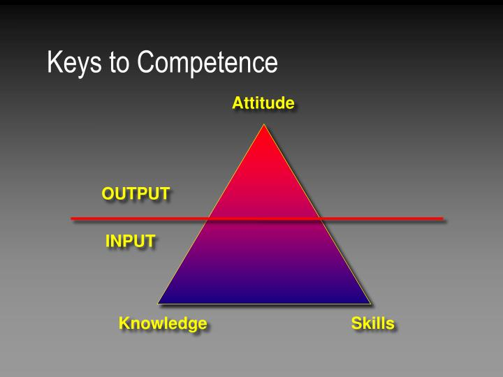 Keys to Competence