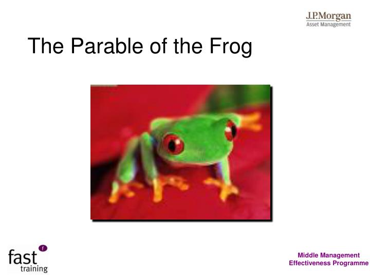 The Parable of the Frog