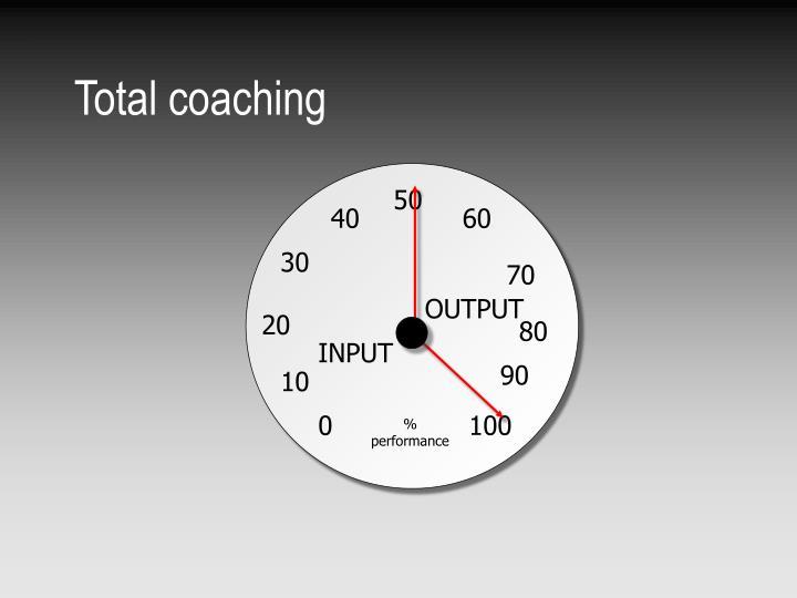 Total coaching