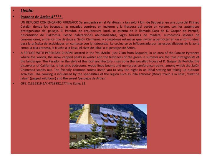 Lleida: