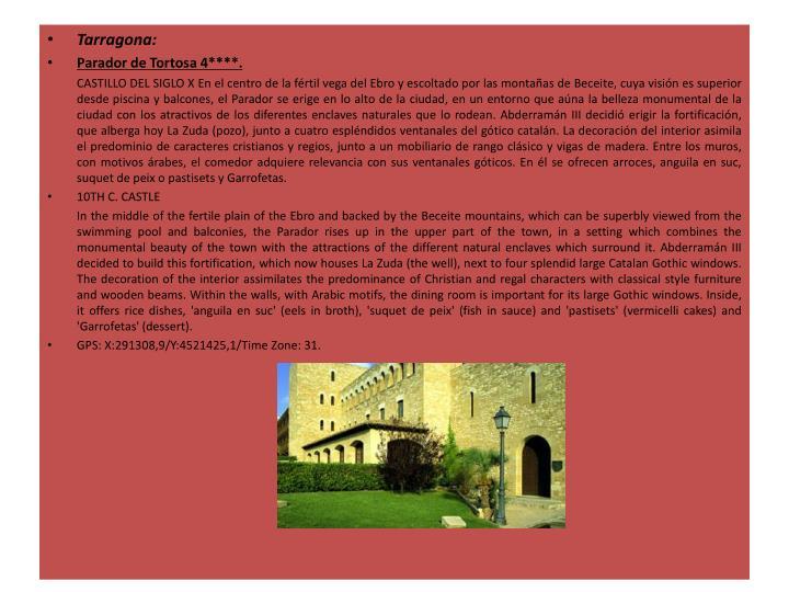 Tarragona: