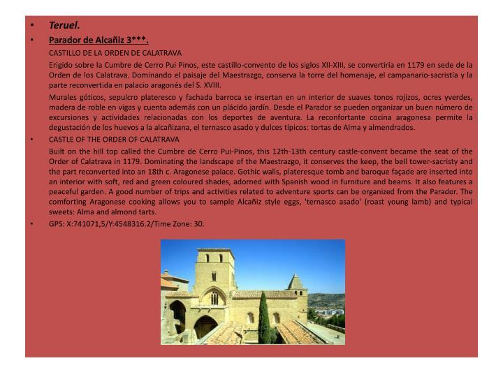 Teruel.