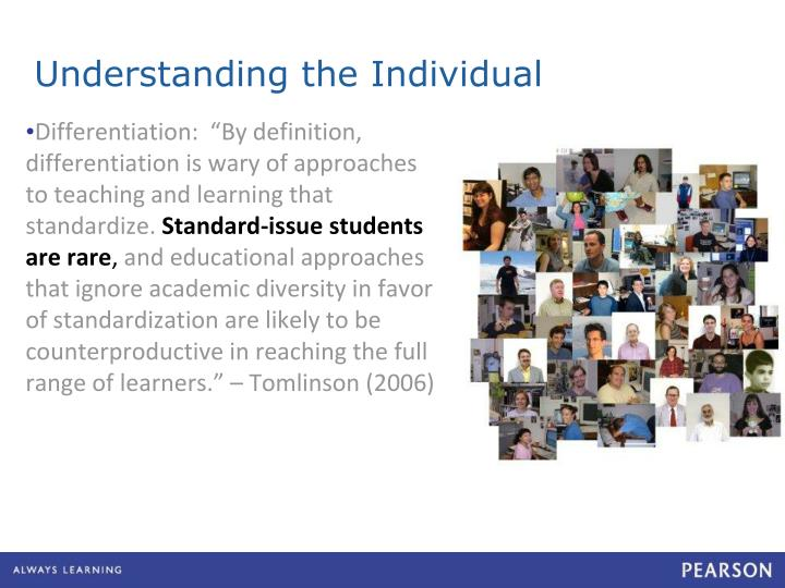 Understanding the Individual