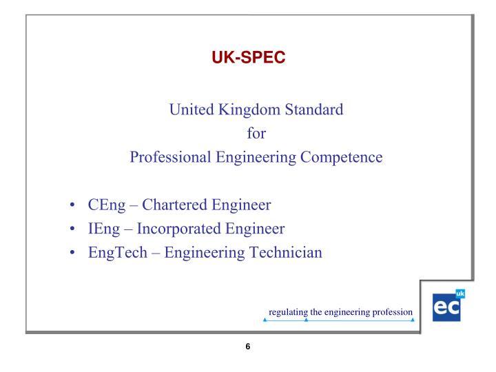 UK-SPEC