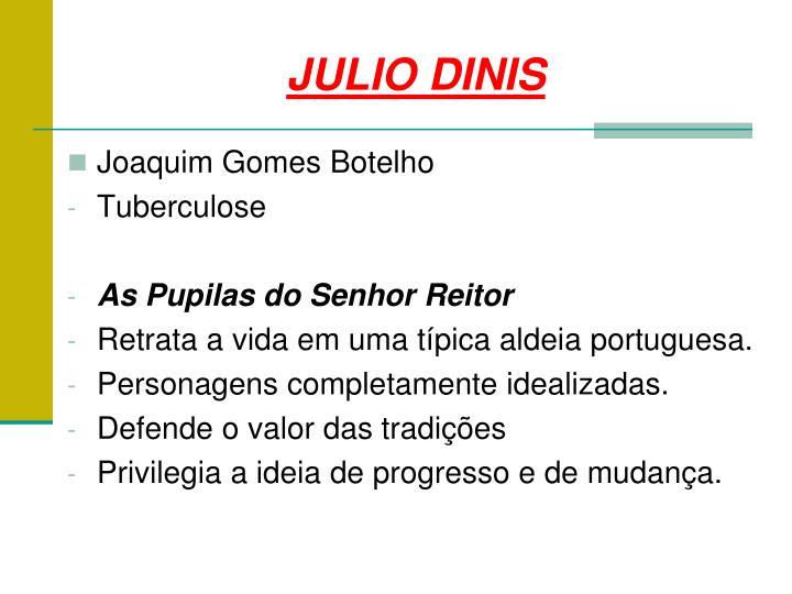 JULIO DINIS