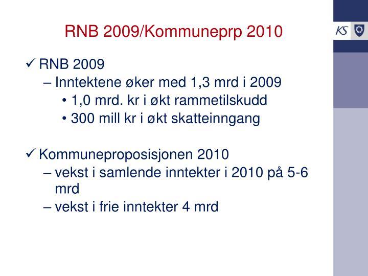 RNB 2009/Kommuneprp 2010