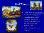 carl warner