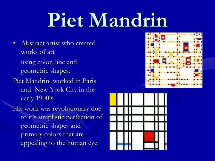 Piet Mandrin
