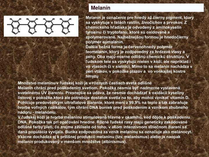 Melanín
