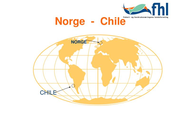 Norge  -  Chile