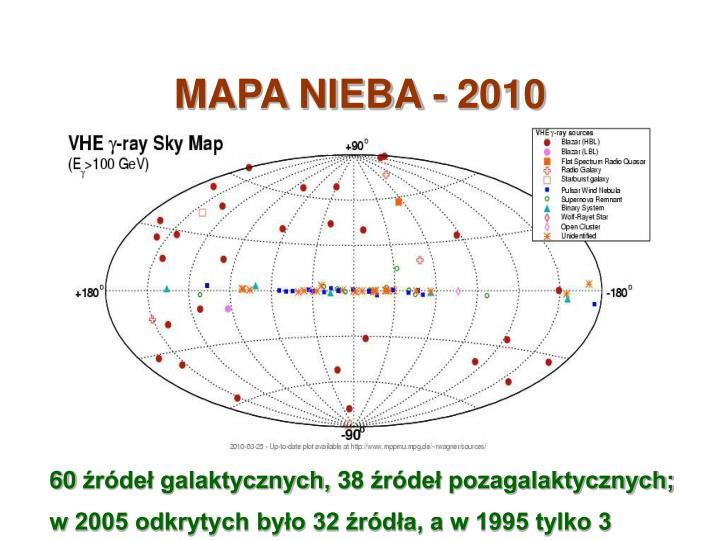 MAPA NIEBA - 2010