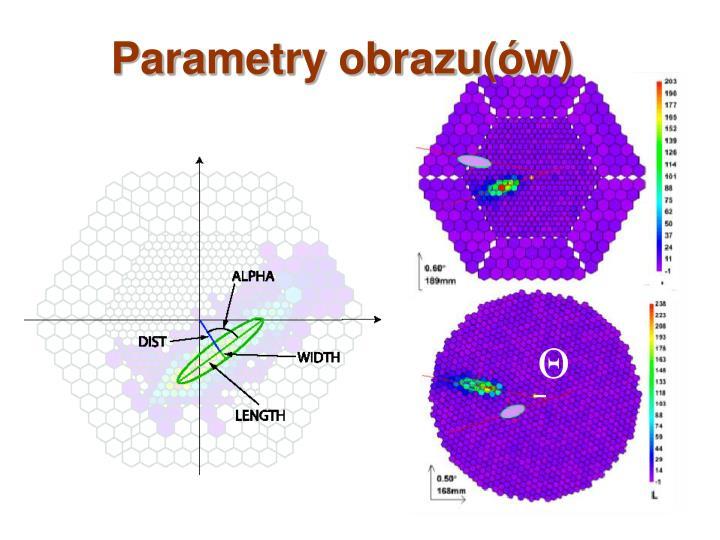 Parametry obrazu(ów)