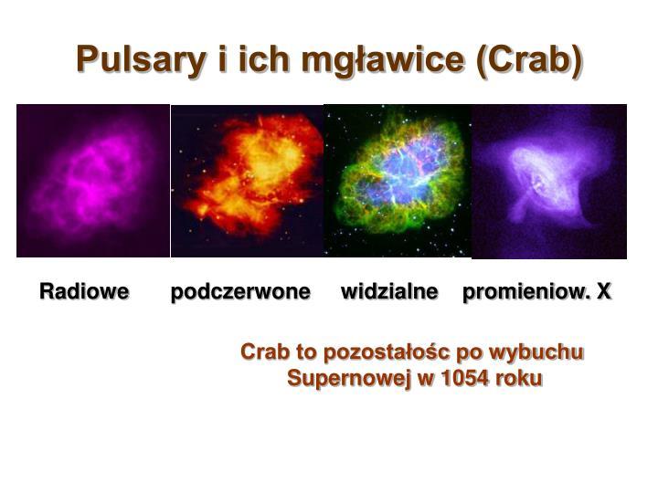 Pulsary i ich mgławice (Crab)