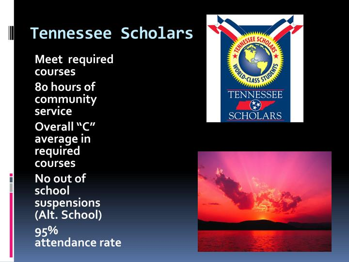 Tennessee Scholars