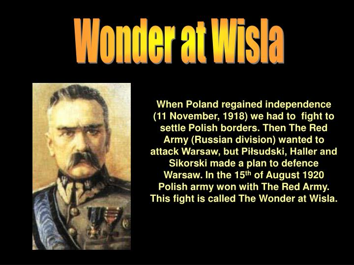Wonder at Wisla