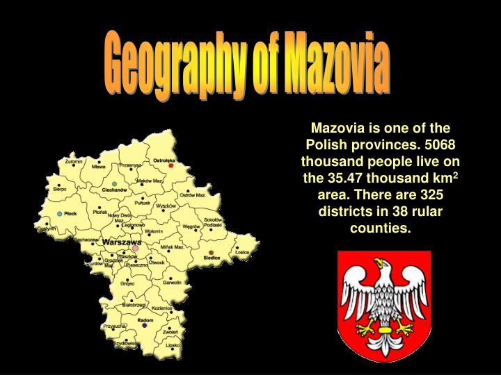 Geography of Mazovia