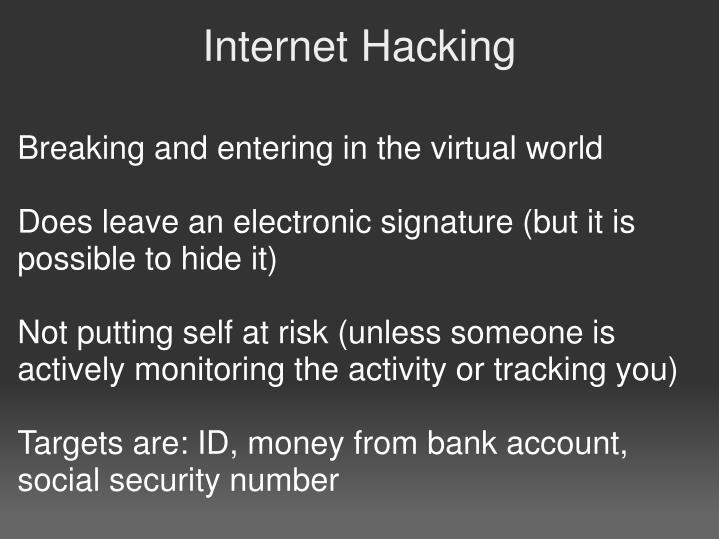 Ethical hacking presentation