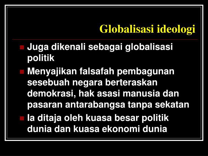 Globalisasi ideologi