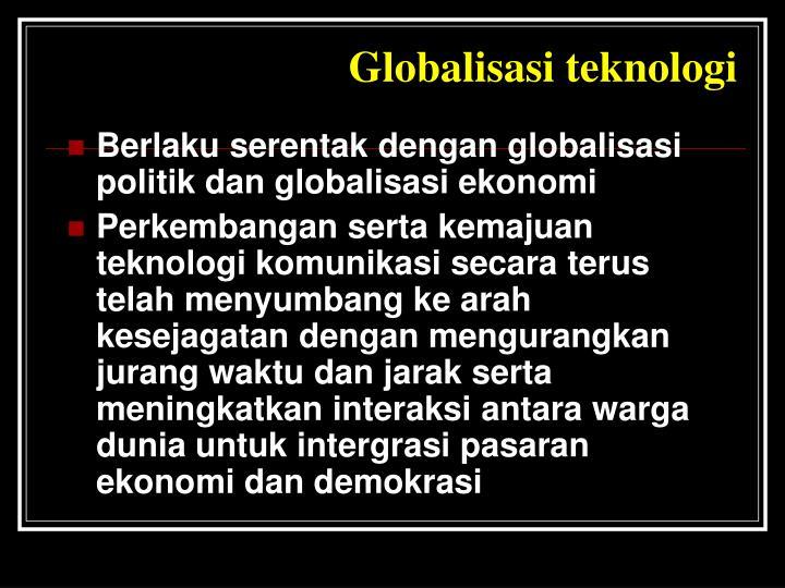 Globalisasi teknologi