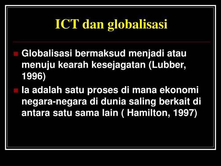 ICT dan globalisasi