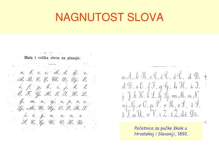 NAGNUTOST SLOVA