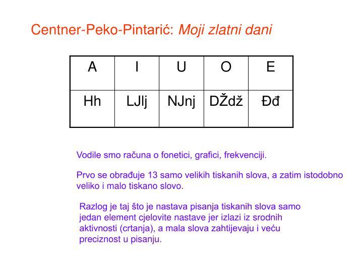 Centner-Peko-Pintarić: