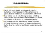euromodules