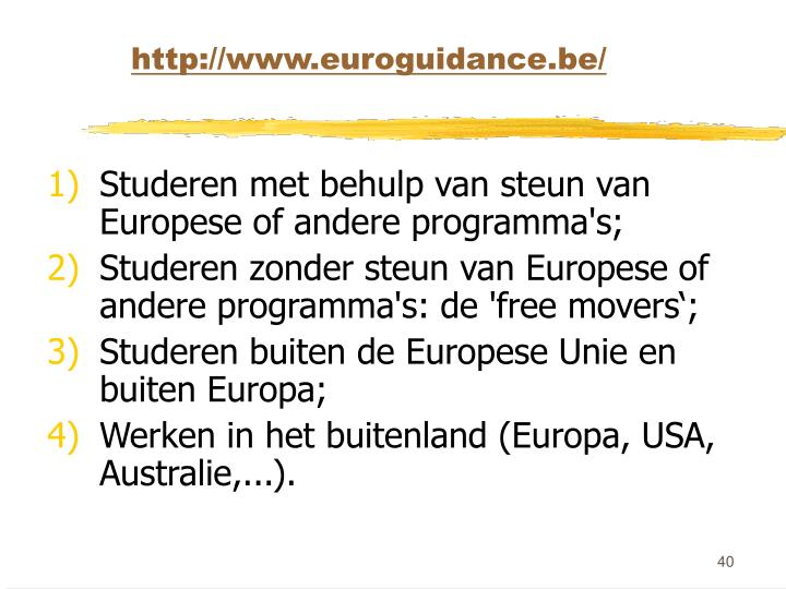 http://www.euroguidance.be/