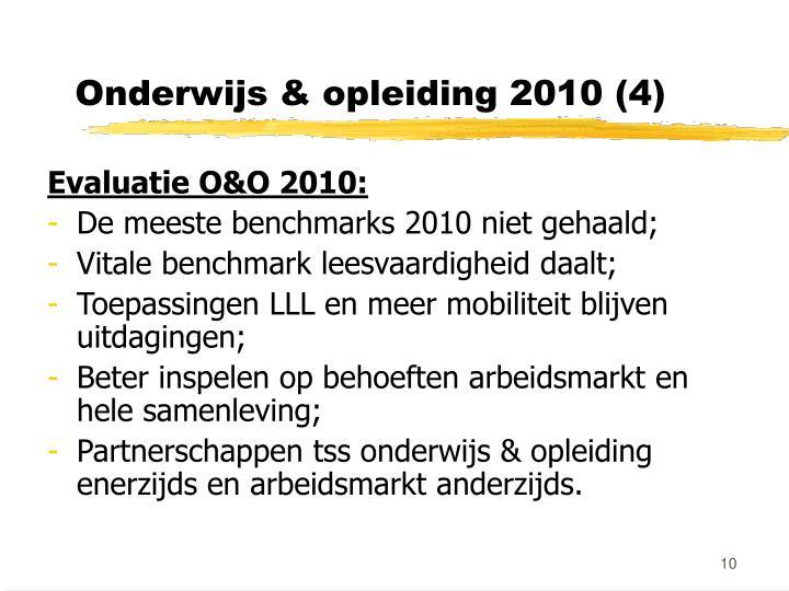 Onderwijs & opleiding 2010 (4)