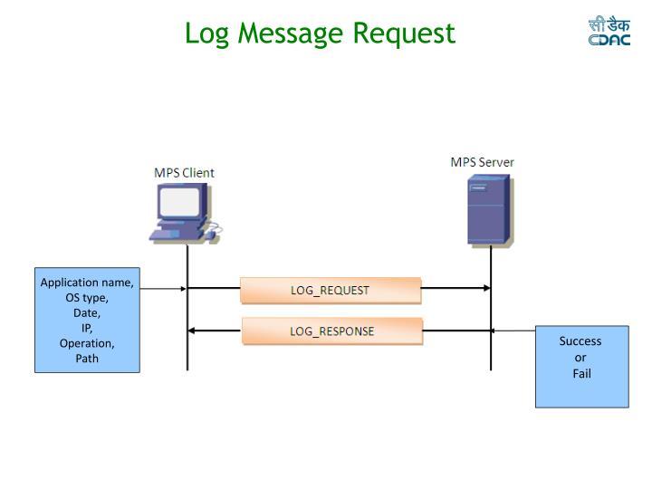 Log Message Request