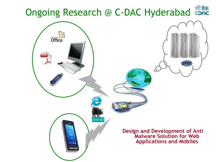 Ongoing Research @ C-DAC Hyderabad