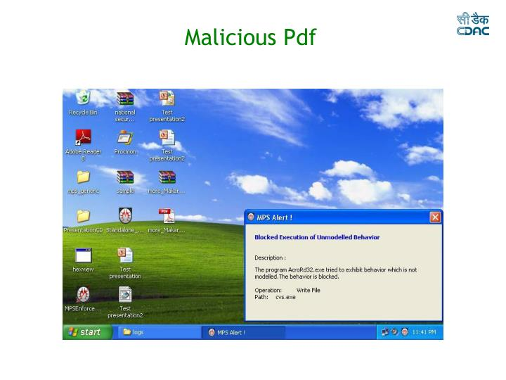 Malicious Pdf