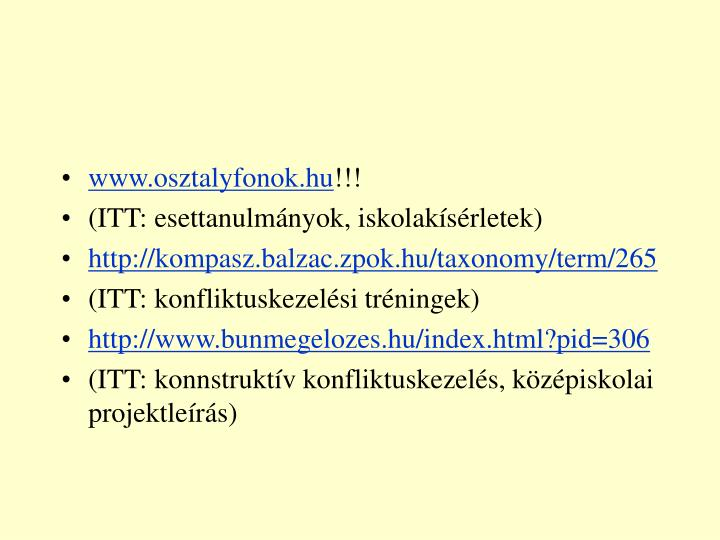 www.osztalyfonok.hu